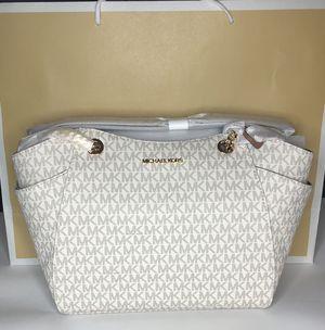 M Michael Kors Women Leather Shoulder Tote Bag Purse Handbag Messenger Satchel for Sale in Lakeland, FL