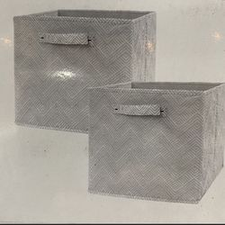 Collapsible Storage Cubes Boxes Set Of 2 for Sale in Chino,  CA