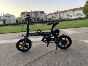 SWALLOW 14inch Fat Tire Portable & Folding Electric Bike-Matt Black 2019 New Model for Sale in Vallejo, CA