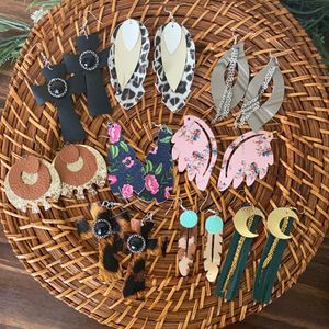 Faux Leather Earrings!! for Sale in Humble, TX