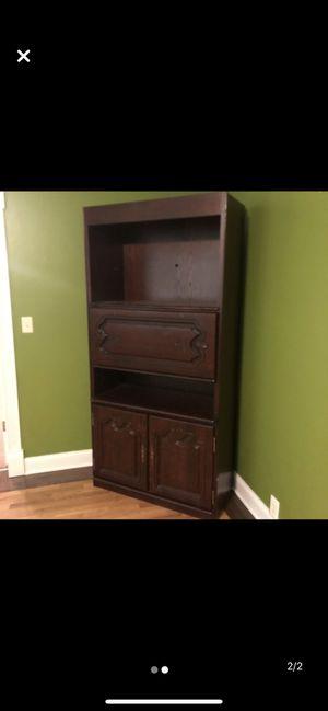 Wood curio side board for Sale in Stone Mountain, GA
