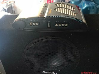 8 Inch Phoenix gold And Amp for Sale in Union City,  CA