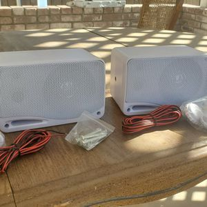Waterproof Outdoor Speakers for Sale in Visalia, CA