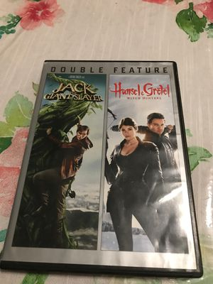 Two movie's jack the giant slayer and Hansel and Gretel witch hunters for Sale in Irving, TX