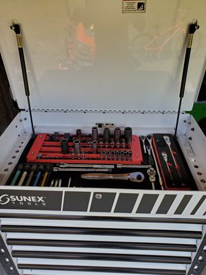 Sunex tool cart with tools for Sale in Spring Hill, FL