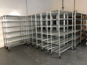TRINITY 6-Tier rack on lock wheel - I have 32 of them for Sale in Fremont, CA