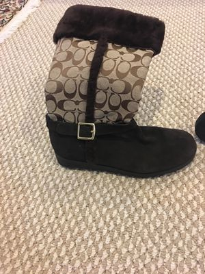 Women's Authentic Coach boots sz. 10b for Sale in VINT HILL FRM, VA