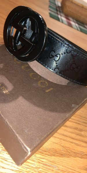 Gucci belt for Sale in Charlton, MA