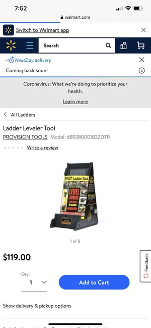 Ladder level tool for Sale in San Antonio, TX