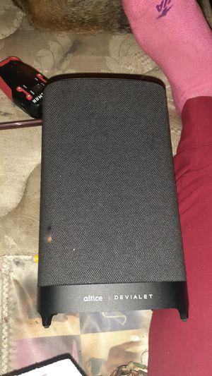 Altice devialet speaker for Sale in Parkersburg, WV
