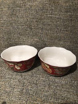 222 Fifth Gabrielle Red Bowls for Sale in Alexandria,  VA