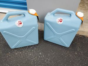 2 NEW 6 Gallon Ozark Trail Water Jugs for Sale in Dundalk, MD