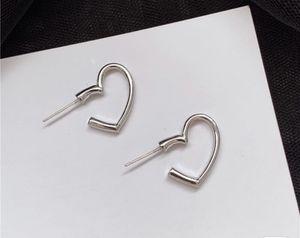 Silver open heart stud earrings for Sale in ROWLAND HGHTS, CA
