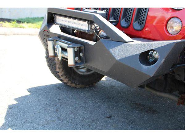 2009 Jeep Wrangler 4WD 2 DOOR 6 SPEED MANUAL BFG MUD TERRAIN TIRES