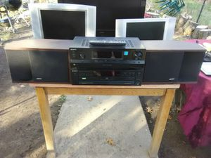 Sony and Bose bookshelf stereo system with remote control $350 for Sale in Washington, DC