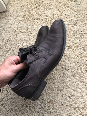 Kenneth Cole brown leather dress shoes size 11 for Sale in Grand Rapids, MI
