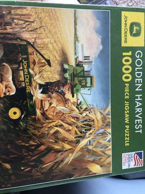 John Deere puzzle for Sale in Manistee, MI