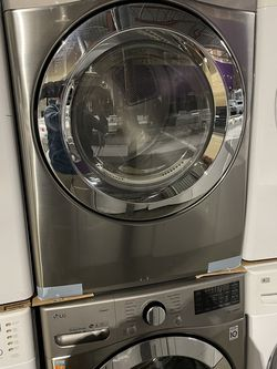 NEW LG Stainless Steel Washer and Dryer Front Load set for Sale in Dallas,  TX