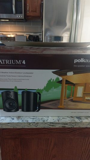 Polk Audio Atrium 4 outdoor speakers for Sale in Sumner, WA
