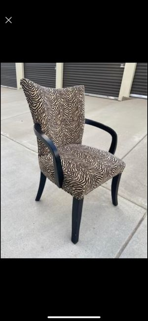Animal Print Dining Chair for Sale in Nashville, TN