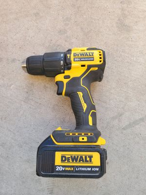 Dewalt brushless hammer drill and battery..no charger for Sale in Phoenix, AZ