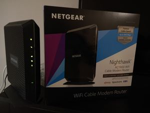 Netgear Nighthawk Cable modem and Wi-fi Router for Sale in Palm Springs, FL