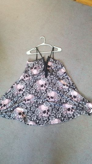 Rosegal midi dress, skull and roses for Sale in Denver, CO