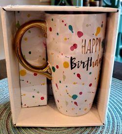 Happy Birthday Mug for Sale in Pinellas Park,  FL