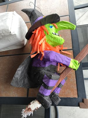 Small Witch piñata for Sale in Long Beach, CA