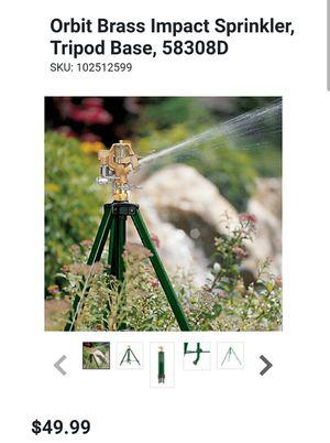 Tripod base sprinkler Green for Sale in College Park, GA