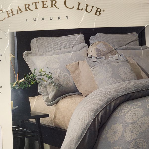 Charter Club Luxury Collection Duvet cover and Shams
