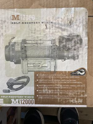 Winch Warn M12000 for Sale in Fontana, CA