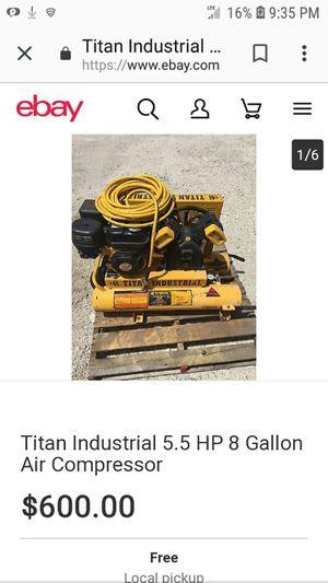 Titan Industrial Air Compressor for Sale in Peoria, IL