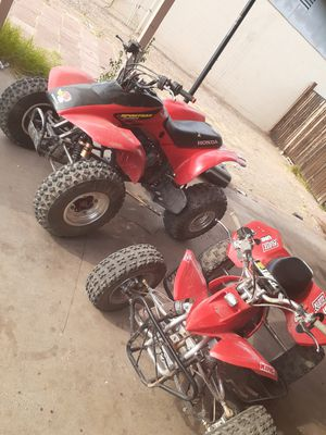 2 quads PAIR 02 Honda 300 06 Baja 125 for Sale in Glendale, AZ