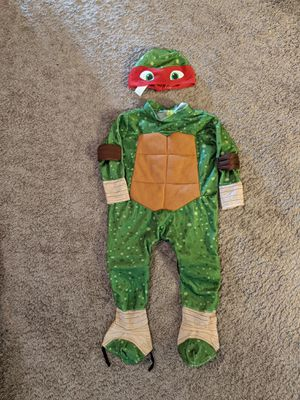 Teenage mutant Ninja turtle toddler costume for Sale in Puyallup, WA