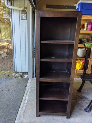 Two matching bookshelves $50 for Sale in Mill Creek, WA
