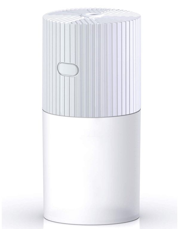 FREGENBO Mini Cool Mist Humidifier Portable - Personal 300ML and 7 Colors LED Night Light with USB - Whisper Quiet Operation Automatic Shut-Off for H