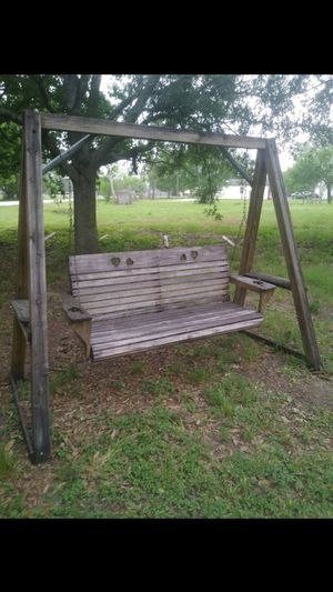 Porch swing with for Sale in Houston, TX