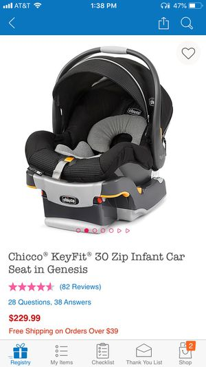 Chico keyfit car seat and bass with extra base for Sale in Elk Grove, CA