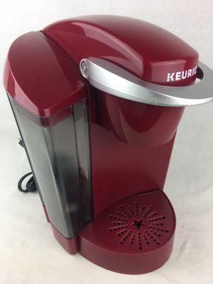 Keurig K40 Single-Serve Coffee Maker Red Very Good Descaled for Sale in Lake Elsinore, CA