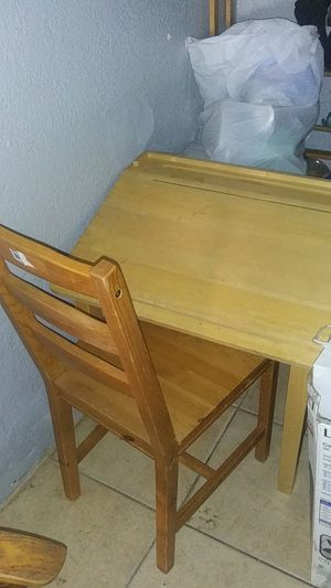 Kids desk with chair for Sale in Lathrop, CA