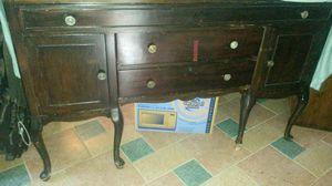 Solid cherry wood antique dresser for Sale in Spencerville, MD