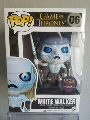 Funko pop game of thrones glow white walker for Sale in Los Angeles, CA