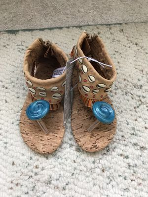 Disney Moana Costume Shoes for Kids Size 9/10 for Sale in Fort Lauderdale, FL