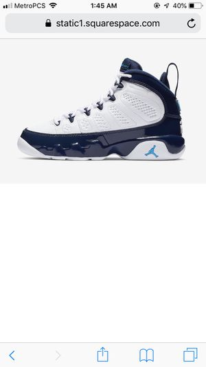 Jordan 9s size 11/5 for Sale in Denver, CO