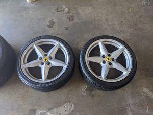 Ferrari 360 Modena rims and tires for Sale in Harbor City, CA