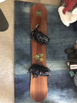 Arbor Snowboard, Rolling Bag, Boots and Bindings for Sale in Redondo Beach, CA