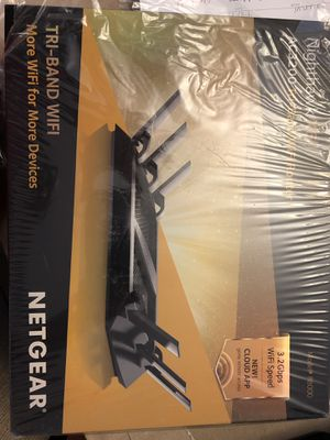 NETGEAR AC3200 wireless router for Sale in Suffield, CT
