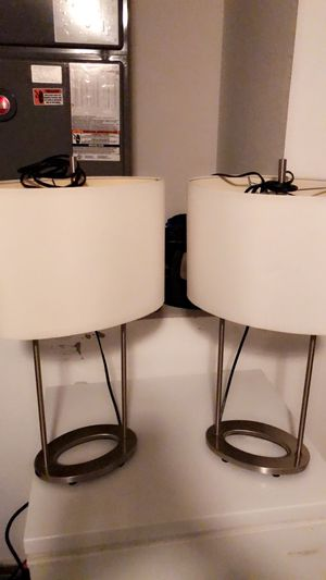 2 Lamps for Sale in Winter Haven, FL
