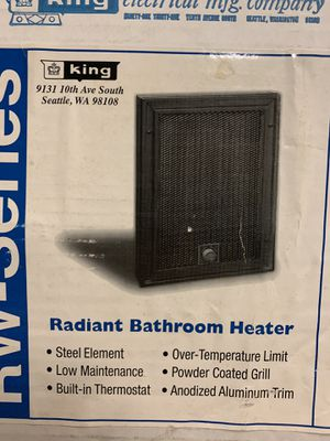 Bathroom wall heater for Sale in Pittsburgh, PA